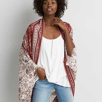 AEO Printed Cocoon , Toasted Coconut