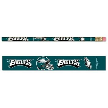 Philadelphia Eagles Pencil 6 Pack