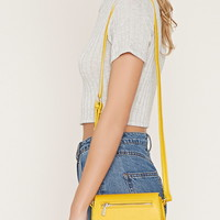 Faux Leather Crossbody | Forever 21 - 1000171686