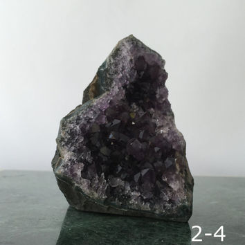 Amethyst Druse | Amethyst Geode | Amethyst Cluster | Natural Home Décor | Feng Shui Décor | Meditation Altar | Massage Room | YOUR CHOICE
