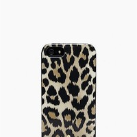 kate spade new york Kate Spade Iphone 5 Leopard Ikat Case