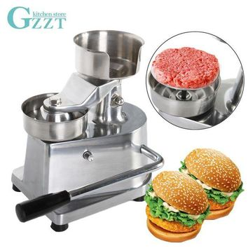 DCCKFS2 Manual Hamburger Burger Meat Press Machine Aluminum Alloy Hamburger Patty Maker 100mm/130mm Diameter