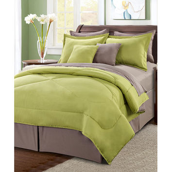 BNF Home Reversible 10 Piece Comforter Set | Wayfair