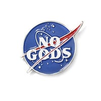 No Gods Lapel Pin
