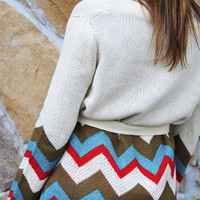 Lonely No More Sweater: Chevron | Hope's