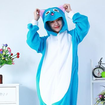 Pijama Fairy Tail Happy Cat Onesuit Cartoon Love Live Cosplay Costume Anime Cosplay Halloween Costumes For Women