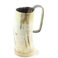 Horn Mug - Medium - Rough Finish 0