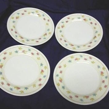 Homer Laughlin, China Dinnerware #G3302, Moselle, Eggshell Georgian 4 Bread