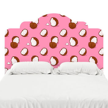 Coconut Headboard Decal