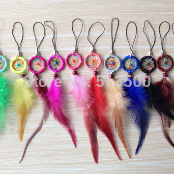The Oily Essentials Dream Catcher Keychain/ Rear View Mirror Accessory