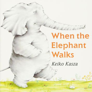 When the Elephant Walks Board book – May 24, 2004