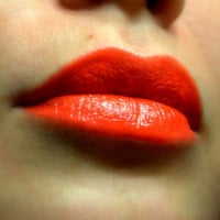 Red Orange Lipstick - Nourishing - Flamenco Girl - All Natural