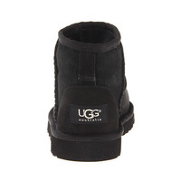 UGG Kids Classic Mini (Little Kid/Big Kid) Black - Zappos.com Free Shipping BOTH Ways