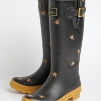 Bee Print Rain Boots By Joules