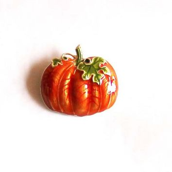 UALGL Fashion Jewelry Pumpkin Brooch Fashionable Brooches  Broach Spille Saldi Lapel Pin Brooches  Vegetable Broche De Calabaza