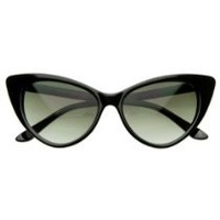 zeroUV Women's Zv-8371d Wayfarer Sunglasses, Black, 54 mm