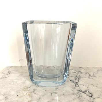 Rectangular Strombergshyttan Glass Vase