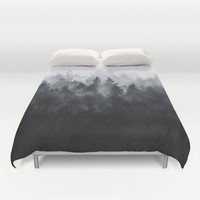The Heart Of My Heart // Midwinter Edit Duvet Cover by Tordis Kayma