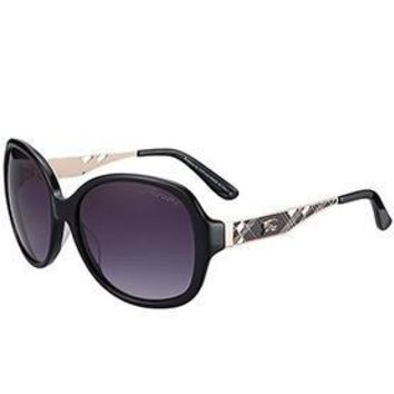 Burberry Butterfly Round Black Sunglasses 307760