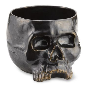 Halloween Skull Punch Bowl