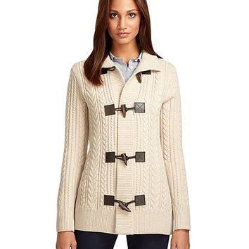 Saxxon™ Wool Sweater Coat - Brooks Brothers