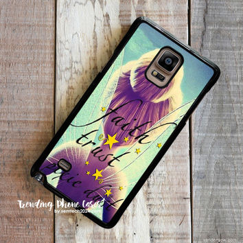 Peterpan Fayry Quote  Samsung Galaxy Note 4 Case Cover for Note 3 Note 2 Case
