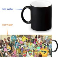 Rick and Morty Magic Mug