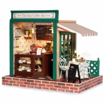 Miniature DIY Wooden Doll House