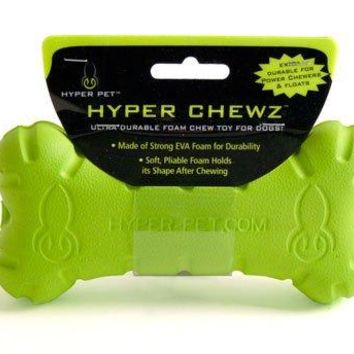 Hyper Pet Hyper Chewz Bone Chew Toy For Dogs : Pet Chew Toys : Pet Supplies