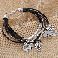 Women Bird Nature Charm Bracelet