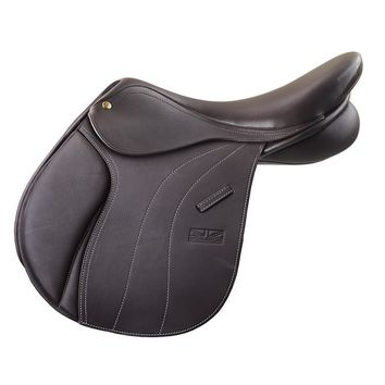 Ovation Adult Monarch Cambridge Jumping Saddle - Brown