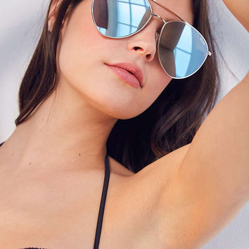 Quay X Jasmine Sanders Indio Metal Sunglasses | Urban Outfitters