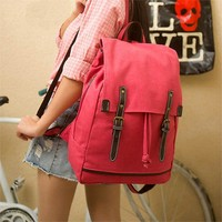 Hot Deal Stylish Comfort Back To School On Sale College Canvas Korean Pc Casual Backpack [8267902151]