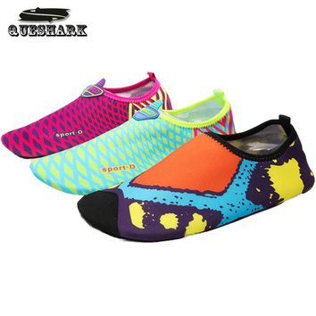 Summer Men Women Beach Diving Swimming Shoes Outdoor Loafers Slip-Ons Wading Water Shoes Scuba Snorkeling Socks Boots
