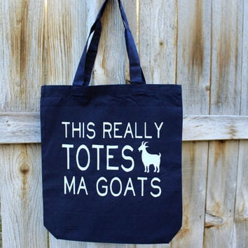 This Really Totes Ma Goats Tote Bag - 2 Colors