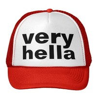 very hella mesh hats