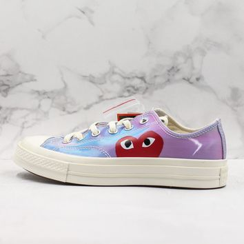 CDG Play x Converse Chuck Taylor All Star 1970s Low Top Sneakers