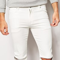 ASOS Super Skinny Jeans With Knee Zips