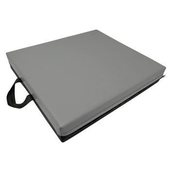 "Evelots Comfy Wheelchair Seat Cushion,Memory Foam Gel Seat, 18""L x 16""W x 3.25""H"