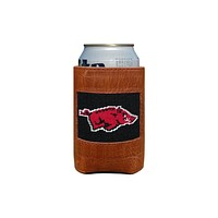 University of Arkansas Needlepoint Can Holder by Smathers & Branson