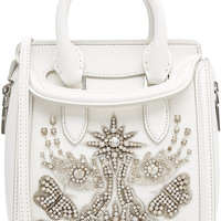 Alexander McQueen - Leather Small Heroine Satchel with Embellishment