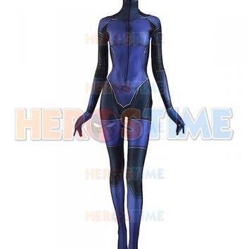 Jill Valentine Costume 3D Printing Resident Evil Girl Spandex Cosplay Superhero Costume Zentai Suit Custom Made Catsuit