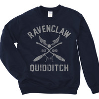Harry Potter Shirt / Ravenclaw Shirt - Sweatshirt / Harry Potter Merch / Harry Potter Gift / Ravenclaw Sweatshirt / Ravenclaw Quidditch