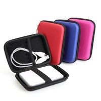 PORTABLE EXTERNAL CELL PHONE OR HARD DRIVE STORAGE CARRY CASE FOR PROTECTION