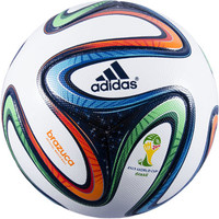 adidas Brazuca Soccer Ball - FIFA 2014 World Cup Match Ball - SoccerPro.com
