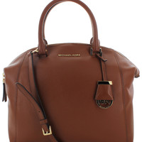 Michael Kors Riley Women's Large Leather Satchel Handbag Bag