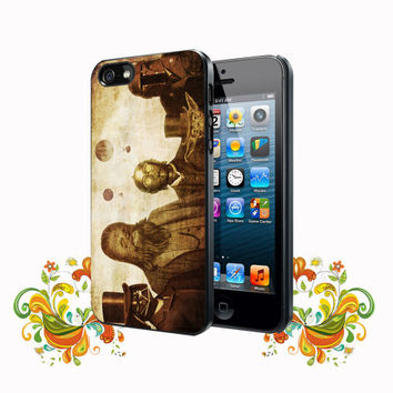 Boba Fett, C-3po, Darth Vader, Yoda and Chewbacca Star Wars iPhone 5, 5s, 5C, 4, 4S , Samsung Galaxy S3, S4, S5 , iPod Touch 4 / S Case