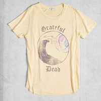 Junk Food Grateful Dead Wave Tee- Yellow