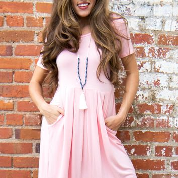 Ready For Anything Dress - Pink
