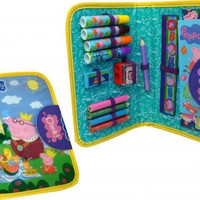 Peppa Pig New Stationery Character Filled Pencil Case
